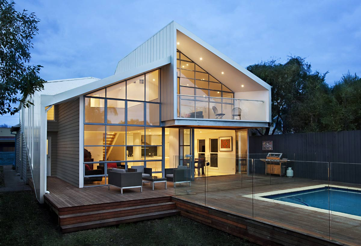 Современный дизайн частных домов